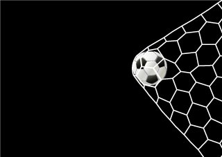 Soccer Goal Black Wallpaper