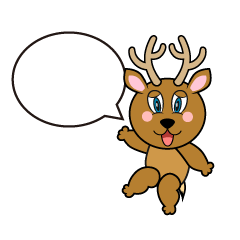 Speaking Deer Cartoon