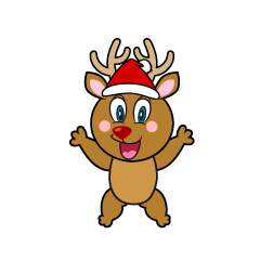 Surprising Reindeer Cartoon