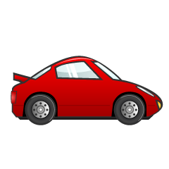 Red Sports Car Clipart