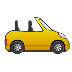 Convertible Car Clipart