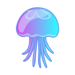 Beautiful Jellyfish Clipart