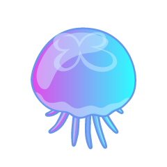 Beautiful Jellyfish from Above