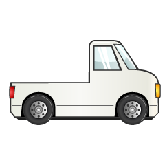 Small Truck Clipart