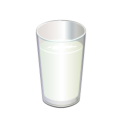 Cup of Milk Clipart
