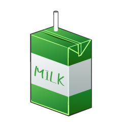 Small Milk Pack Clipart