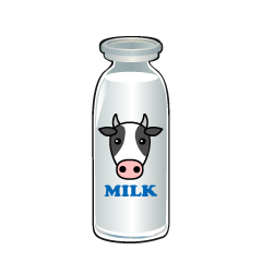 Cow Milk Clipart