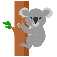 Simple Koala Clipart