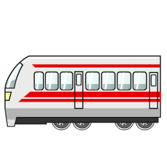 Rapid Train Clipart