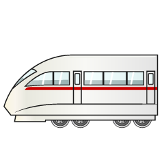Cool Train Clipart