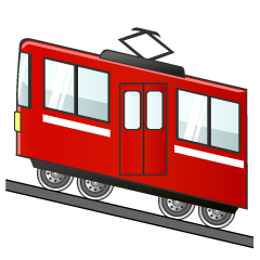 Mountain Train Clipart