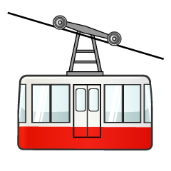 Ropeway Clipart