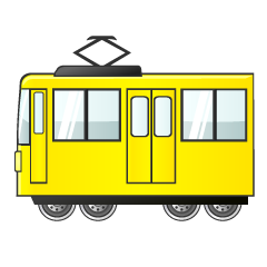 Yellow Train Clipart