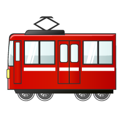 Rad Train Clipart