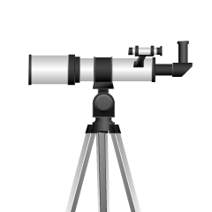 Astronomical Telescope Clipart