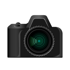 Single-Lens Reflex Camera Clipart