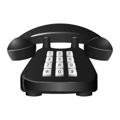 Push Telephone Clipart