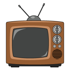 Antenna TV Clipart