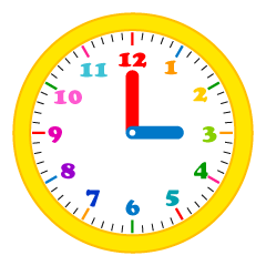 Cute Pop Clock Clipart