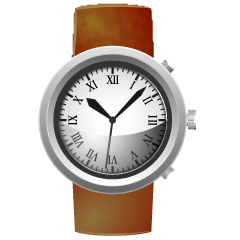 Leather Watch Clipart