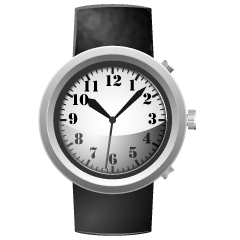 Black Band Watch Clipart