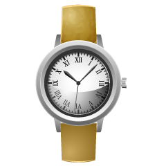 Women's Watch Clipart