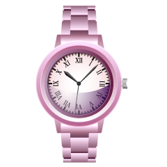 Pink Watch Clipart