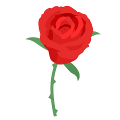 Beautiful Red Rose Clipart