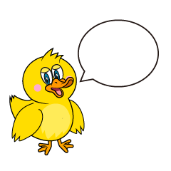 Speaking Duck Cartoon