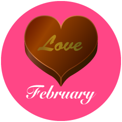 Valentine Chocolate February Clipart