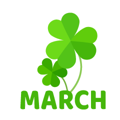Clover March Clipart