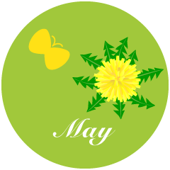 Dandelion May Clipart