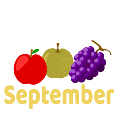 Fruits September Clipart