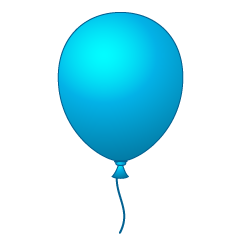 Light Blue Balloon