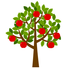 Simple Apple Tree
