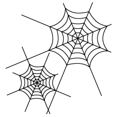Spiderwebs Clipart
