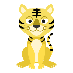 Friendly Tiger Clipart
