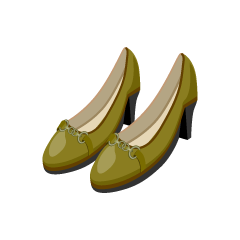 Ocher Pumps