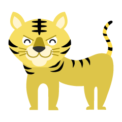 Smile Tiger Clipart