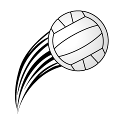Serving Volleyball