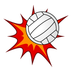 Hit Volleyball