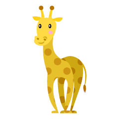 Simple Giraffe Clipart