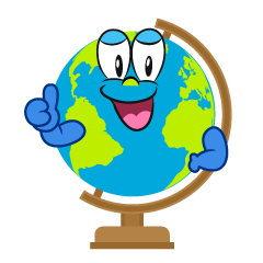 Thumbs up Globe