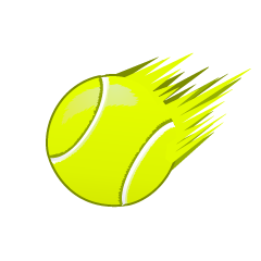 Fast Flying Tennis Ball
