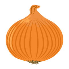 Simple Onion from Side