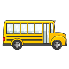 Right of School Bus