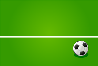 Soccer Ball in the field Wallpaper