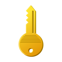 Yellow Home Key