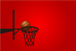 Point Get in Basketball Wallpaper