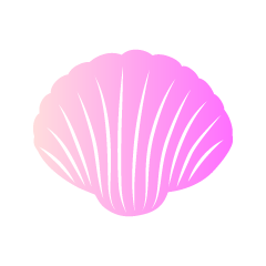 Colorful Pink Shell